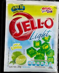 Polvo Para Gelatina De Agua Jello Light Sabor Limón 25 g