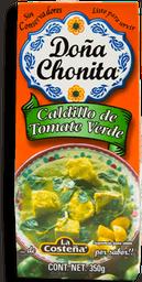 Caldillo Doña Chonita de Tomate Verde 350 g