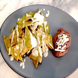Chilaquiles Vegan
