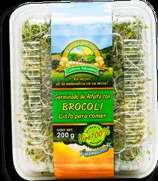 Germinado de Alfalfa San Francisco Con Brócoli 200 g
