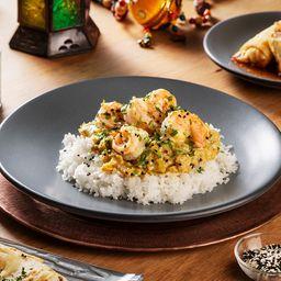Curry Amarillo de Pollo (Hindú Espeso)