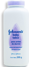 Talco Johnson's Baby  Bed Time Botella 200 mL