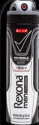 Desodorante Rexona Men Invisible Anti-Manchas Aerosol 150 mL