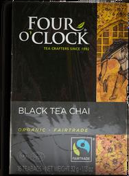 Té Negro Four O'clock Chai Orgánico 32 g