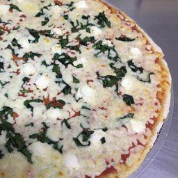 Pizza Grande Espinaca y Ricotta