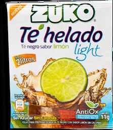 Polvo Para Preparar Bebida Zuko Té Negro Sabor Limón Light 11 g