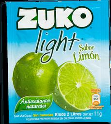 Polvo Para Agua Zuko Limón Light 15 g