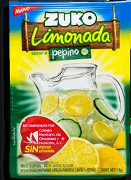 Polvo para Agua Zuko Limonada Pepino 15 g