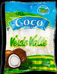 Coco Rallado Verde Valle 100 g