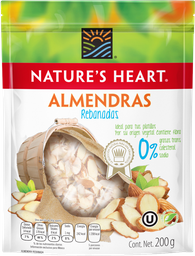 Almendra Rebanada Nature's Heart 200 g