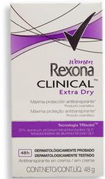 Antitranspirante Rexona Clinical Women Extra Dry 48 g