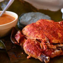 Pollos en Barbacoa