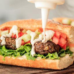 Bagguete O Pita Kebab