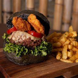 Hamburguesa Blackburger con Boneless