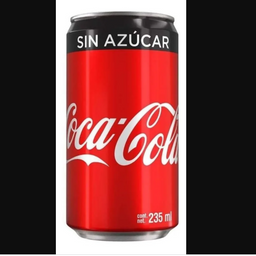 Coca Coca sin Azúcar 235 ml