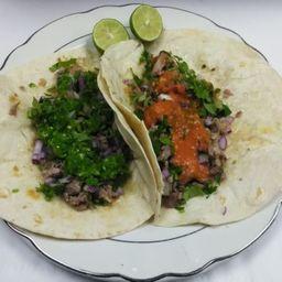 Duo Taco Suadero.