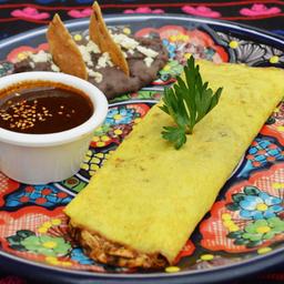 Omelette De Mole Poblano