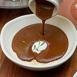 Sopa Tarasca de Frijol Ayocote