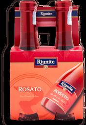 Vino Rosado Riunite 187 mL x 4