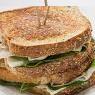 Sándwich Pan de Linaza con Jamón