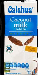 Bebida De Coco Natural de 1 L Calahua 6 U