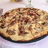 Pizza Provolone e Funghi