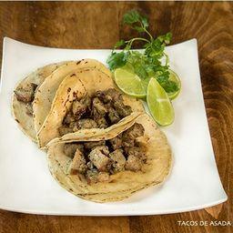 Taco de Asada (180gr 4a5 Tacos)