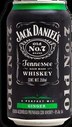 Cooler Jack Daniel's Ginger Lata 350 mL