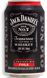 Cooler Jack Daniel's Cola Lata 350 mL
