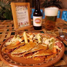 Tacos Mineros de Chicharrón Prensado (4)