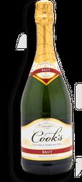 Vino Espumoso Cook's Brut California Seco Botella 750 mL