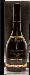 Brandy Torres 15 Años Botella 700 mL