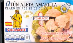 Atún Vigilante Aleta Amarilla En Aceite de Oliva 115 g