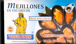 Mejillones Vigilante En Escabeche De Las Rías Gallegas 115 g
