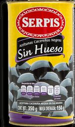 Aceitunas Serpis Cacereñas Negras sin Hueso 350 g