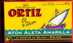 Atún Ortiz el Velero en Aceite de Oliva Solido 112 g