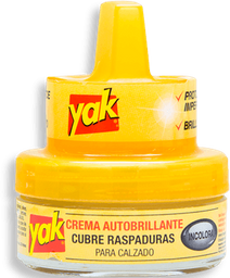 Crema Autobrillante Yak Para Calzado Incolora 45 mL