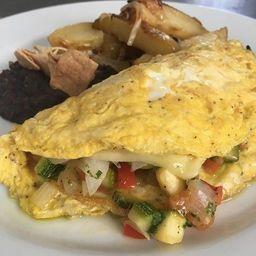 Omelette con Verduras