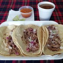 4 Tacos de Birria + Consomé de 10oz