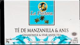 Té La Pastora Manzanilla y Anís 20 U