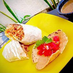 Burrito Huevochorizo