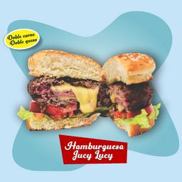 Hamburguesa Jucy Lucy