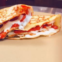 2x1 crepas pepperoni y queso gouda