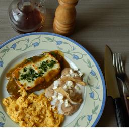 Huevos con Nopal. (nopa-panel)