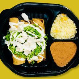 Orden de Tacos Dorados de Birria