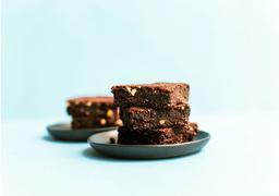 Brownie con harina de coco