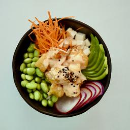 Poke tempura