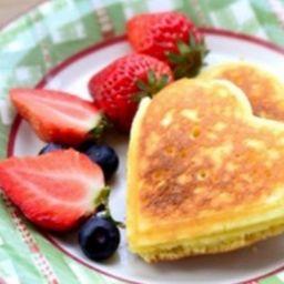 Hot Cakes Infantil de Figura con Fruta
