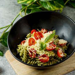 Pasta Pesto y Pollo