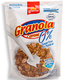 Granola Granvita 0% Azúcar 350 g